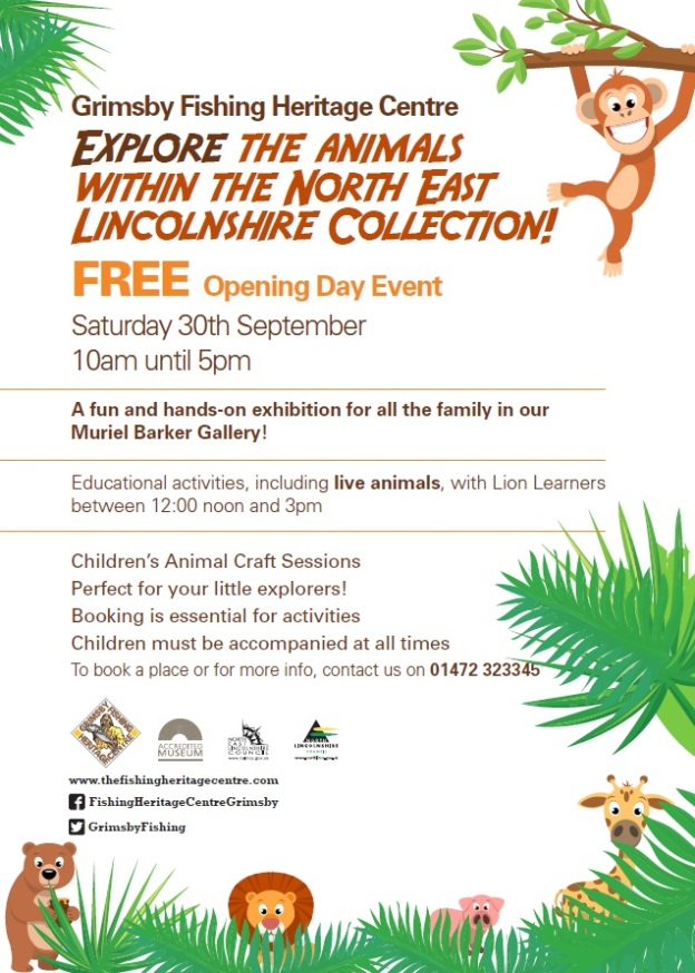 Museum Safari Open Day Poster