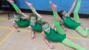 frog gymnastic girls